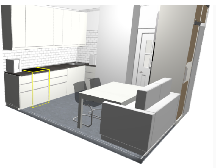 Дизайн кухни с воздуховодом
