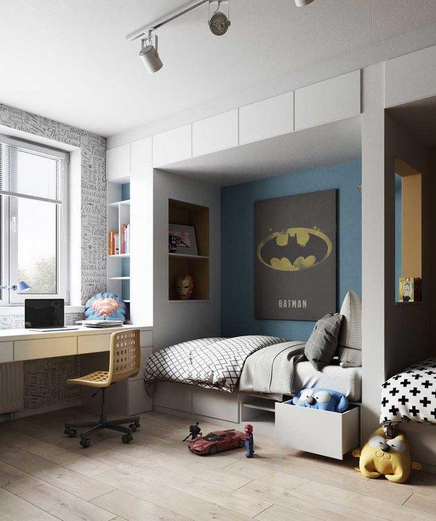 Из чего сделать мебельную конструкцию в детской