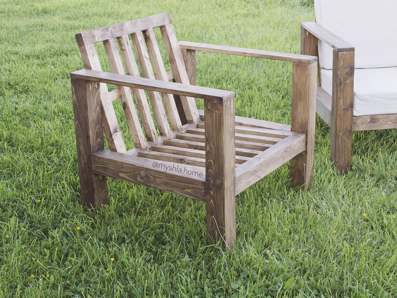 Деревянные стулья для дачи своими руками фото