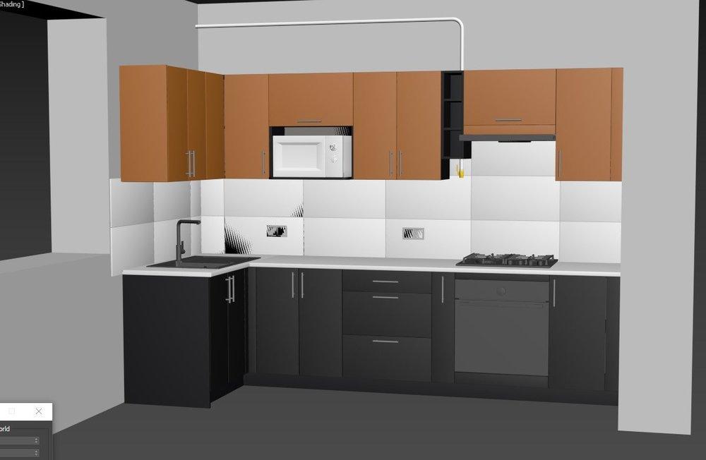 Кухонный гарнитур и дизайн кухни