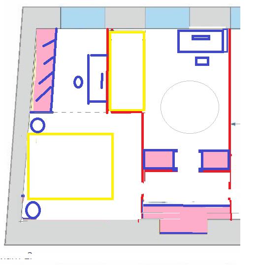 Помогите выбрать планировку и места для хранения