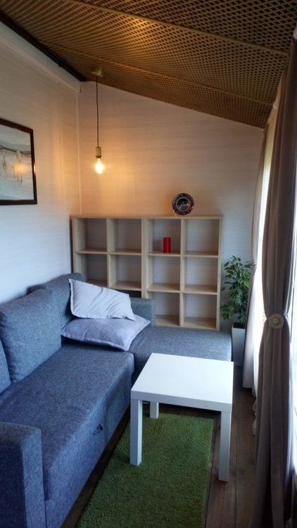 Дизайн веранды в доме в современном стиле-3