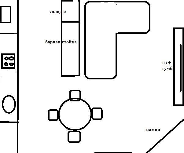 Нестыковки с кухней-гостиной-2