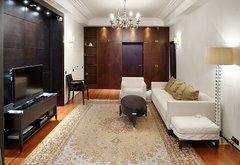 Реализованный проект гостиной