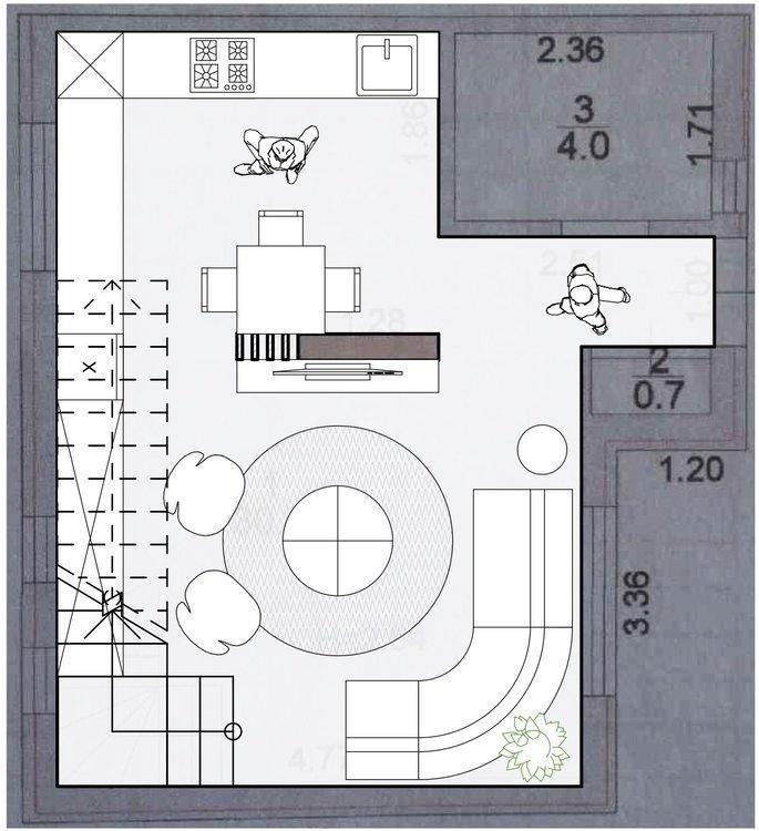 Помогите пожалуйста с планировкой в доме.