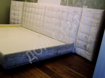 Мягкие стеновые панели  для спальни-3