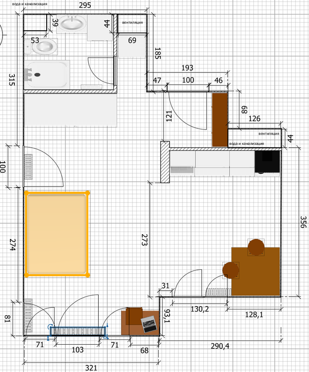 Прошу дать советов для ремонта 36 кв м-2