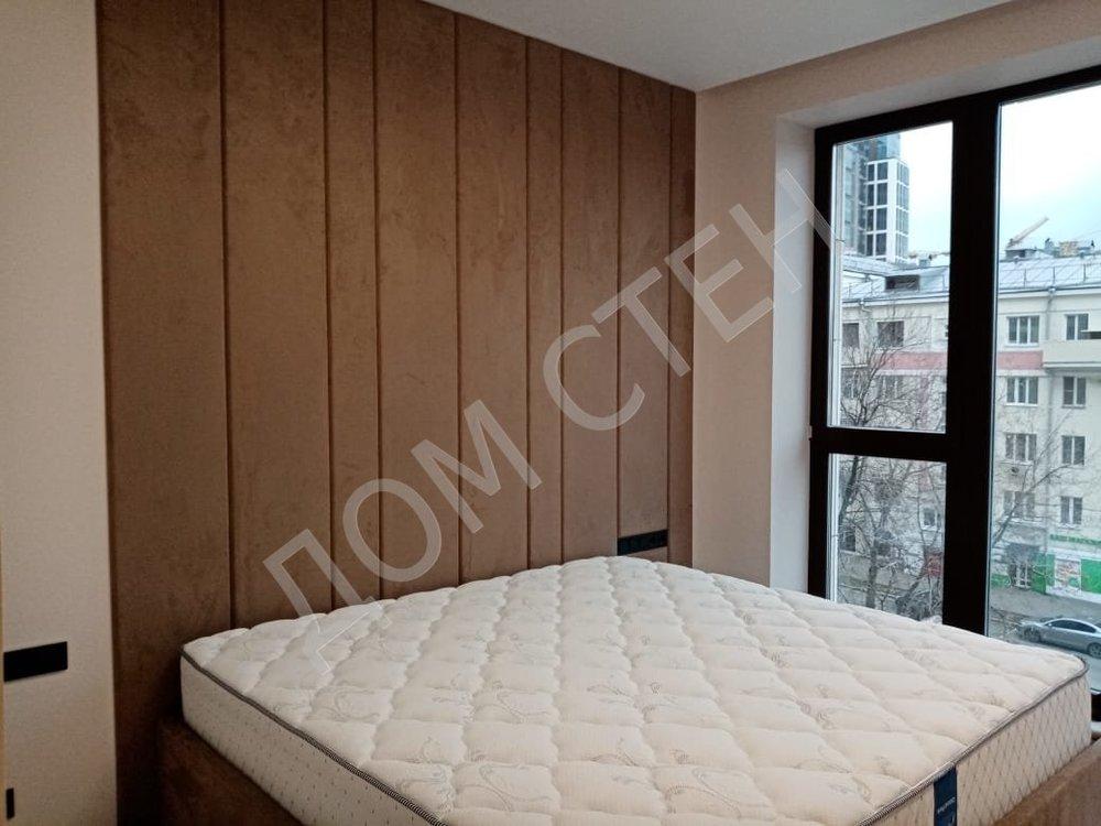 Мягкие стеновые панели  для спальни-5