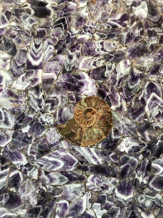 Полудрагоценные слэбы, Amethyst, TigerEyeGold, BlueAgatAntoliny,Italy