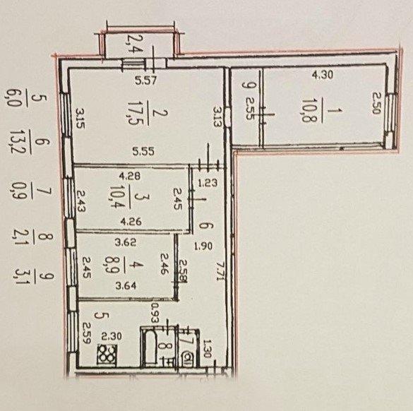 Ремонт в квартире 504 серии
