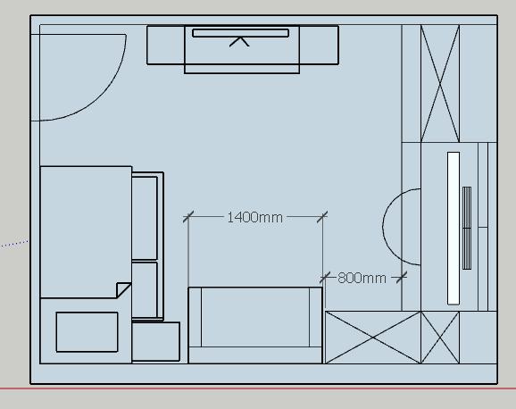 Детская комната подростка-2