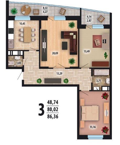 Квартира мечты с нуля-2