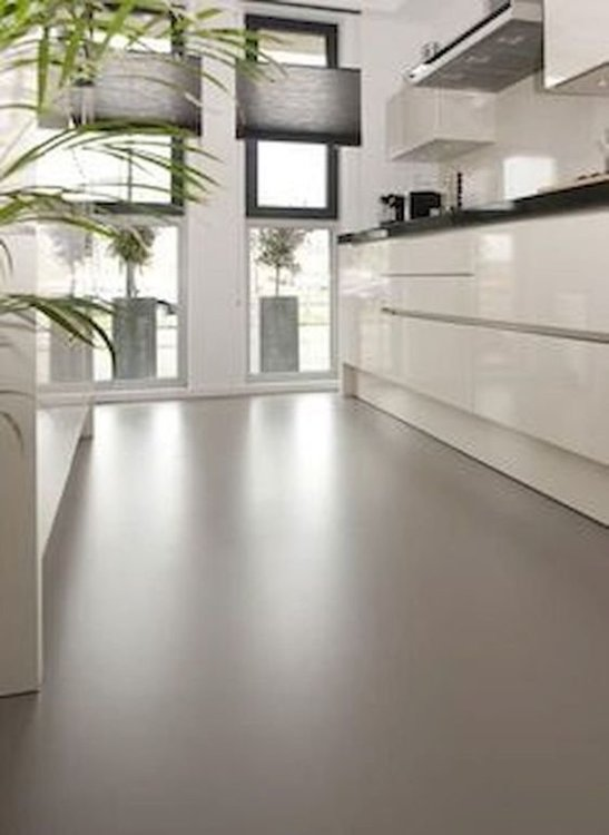Микроцемент/бетон на полу. Бетонный пол-3