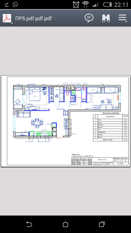 Планировка 3е квартиры с кухней-гостиной