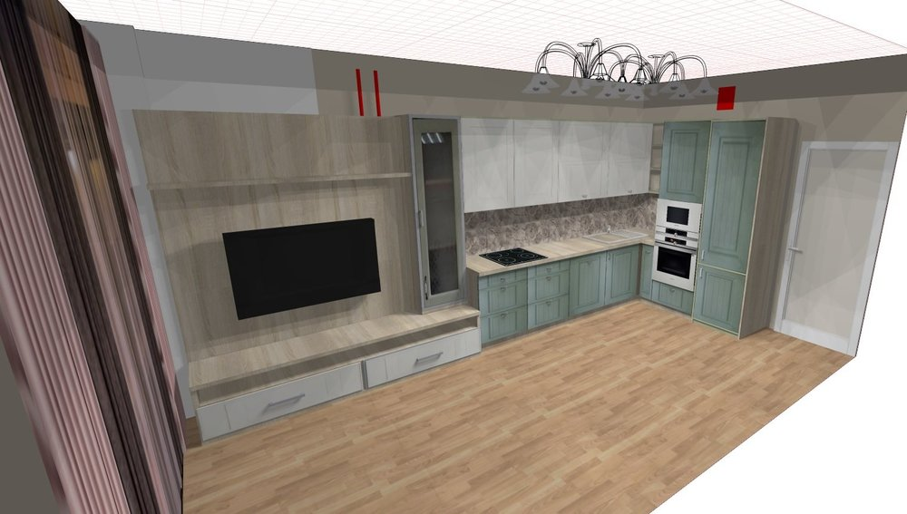 Помощь в планировке кухни-гостиной (16кв.м.)