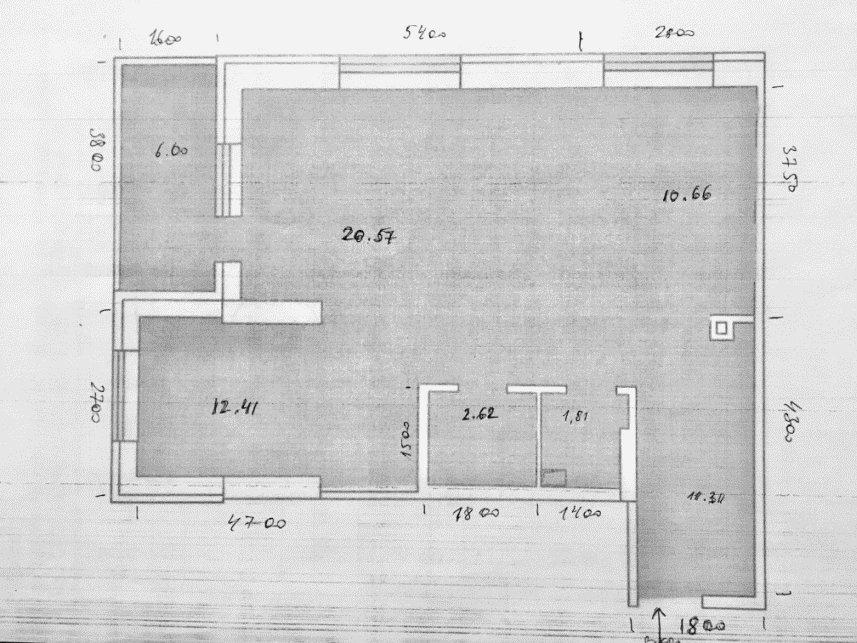 Двух-комнатная (варианты планировки)-2