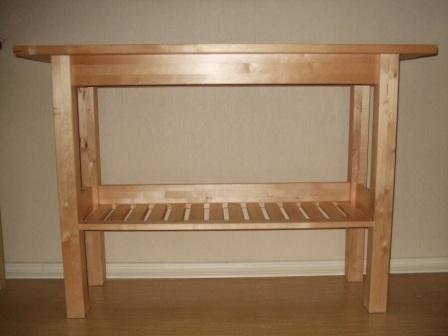 4 предмета мебели ИКЕА из массива березы (Петербург)-4