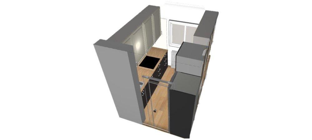 Помогите с планировкой кухни