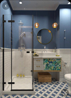 Стены под подкраску в ванной, прошу совета