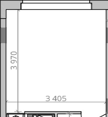 Кухня с большим окном и низким подоконником-2