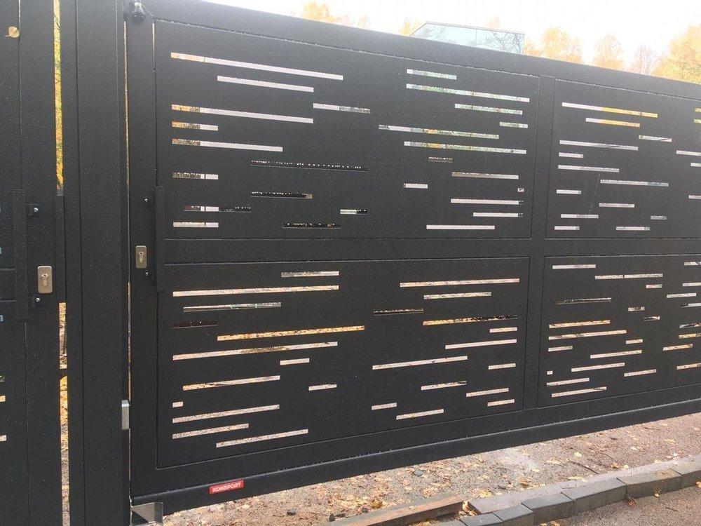 Хочу поделиться с Вами компанией которая мне устанавливала забор.-2