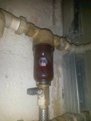 Фильтр тонкой очистки – слабый напор воды-2