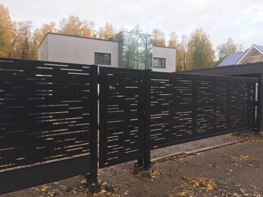 Хочу поделиться с Вами компанией которая мне устанавливала забор.