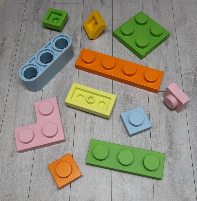 Детали интерьера в LEGO стиле
