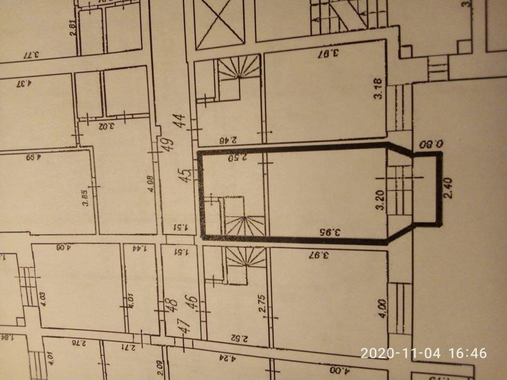 Планировочное решение 2х уровневой, 2х комнатной квартиры.-3