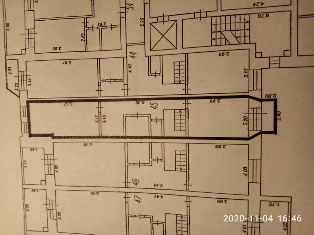 Планировочное решение 2х уровневой, 2х комнатной квартиры.-2