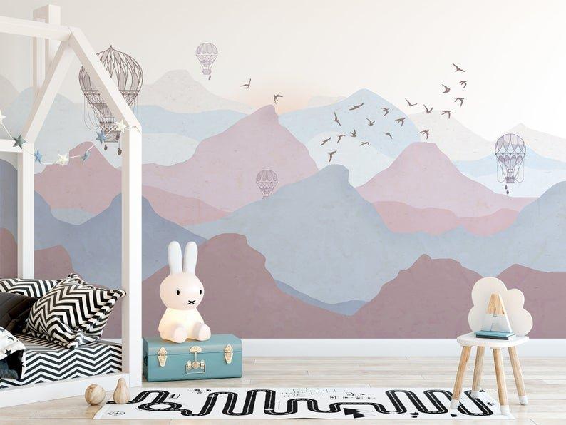 Покраска стен в детской-5
