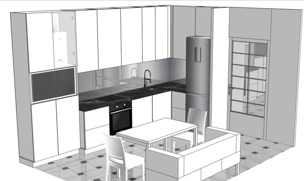 Как из кухни в 13 м2 сделать кухню-гостиную кухню.