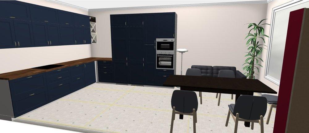 Угловая кухня-3