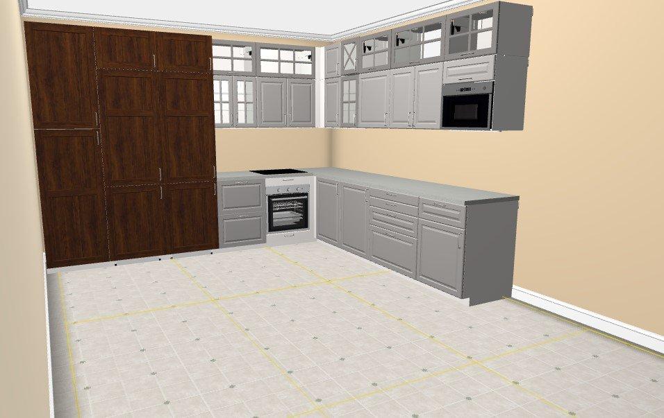 Угловая кухня-4