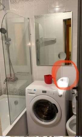 Раковина над стиральной машиной.SOS