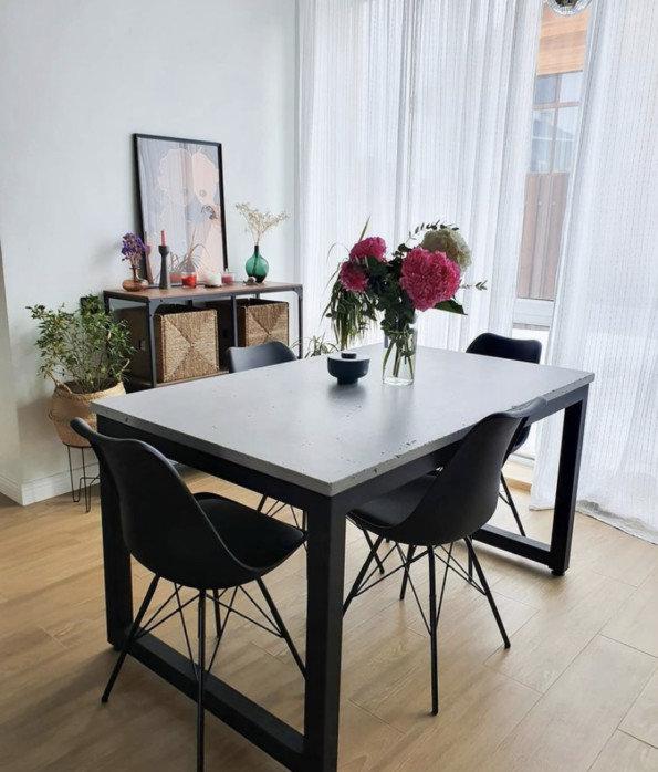 Столешница, фартук на кухню из бетона - новый тренд в мире интерьера