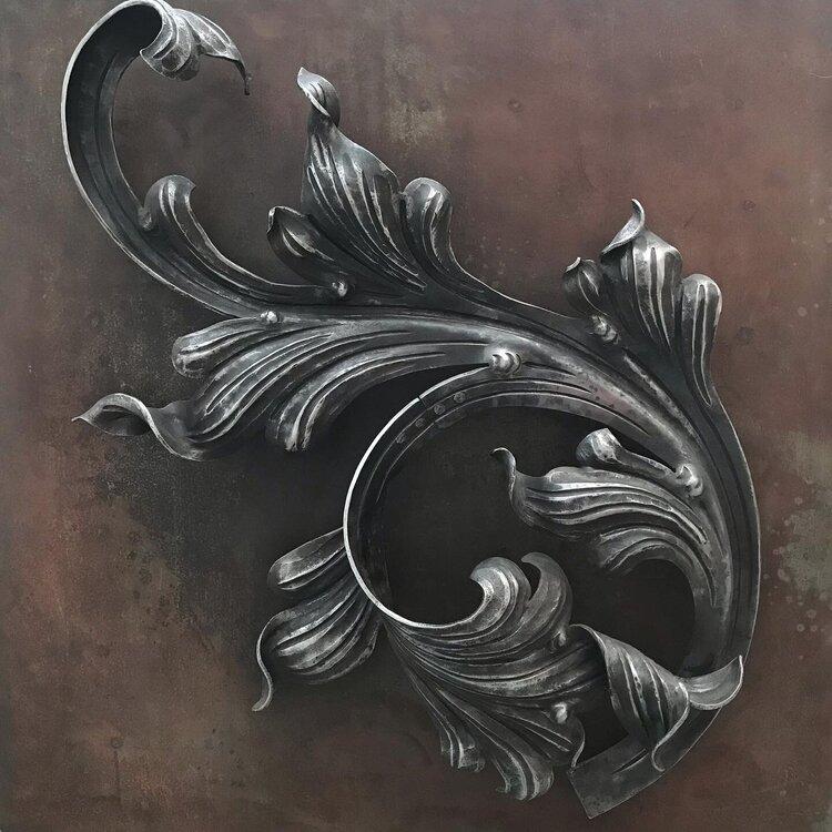 Художественная ковка в интерьере и экстерьере, арт-объекты
