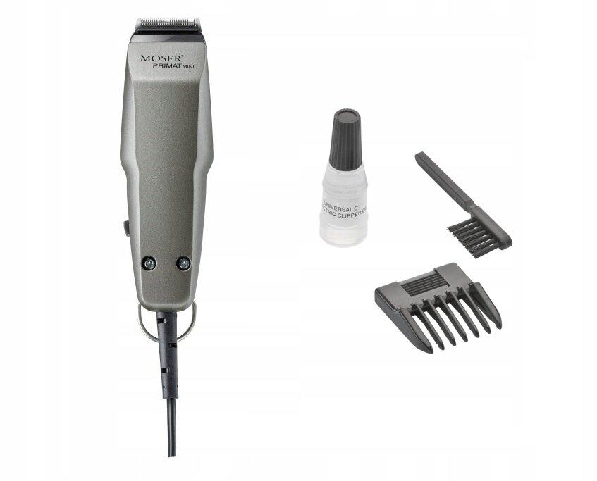 MOSER PRIMAT MINI: обзор современного триммера для стрижки волос-5