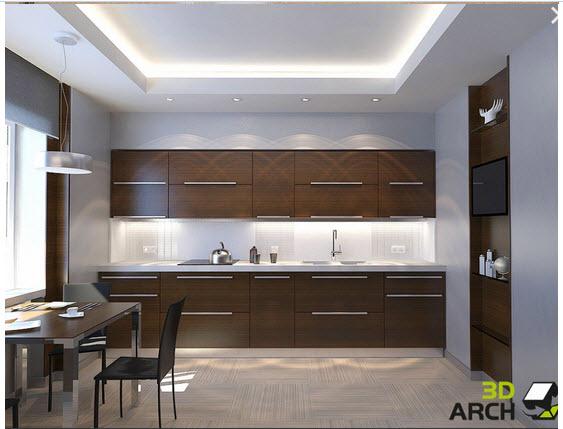 Дизайн кухни 20 кв метров фото