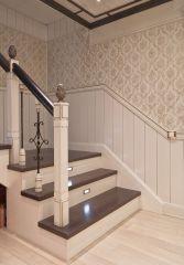 отделка лестницы